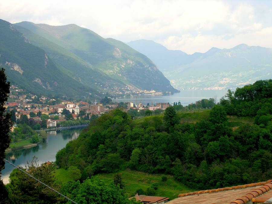 Iseo Lake View from Residence Castel Montecchio